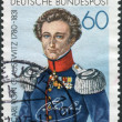 Postage stamp printed in Germany, shows Carl Philipp Gottfried von Clausewitz — Stock Photo #53121199