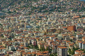 Alanya and the Mediterranean Sea from the bird's-eye view. Turkey. — 图库照片