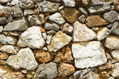 Stone wall. Background. — Stock Photo
