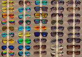 Sunglasses Ray-Ban. Background — Stock Photo