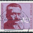 Postage stamp printed in Germany, shows the Leader of German Social Democratic Party (SPD), Otto Wels — Stock Photo #53959043