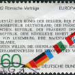 Postage stamp printed in Germany, dedicated to the 25th anniversary of Treaty establishing the European Economic Community (Treaty of Rome) — Stock Photo #54343873