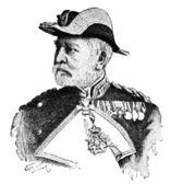 Portrait of Vice Admiral Reinhold von Werner. — Stock Photo