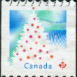 Postage stamp printed in Canada, shows Christmas Tree — Stock Photo #57683611