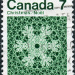Postage stamp printed in Canada, Christmas issue — Stock Photo #57761881