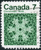 Postage stamp printed in Canada, Christmas issue — Stock Photo