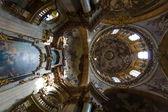 Interior of the Cathedral of St. Nicholas (Mala Strana) — Stock Photo