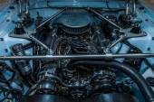 Engine Windsor HiPo V8 of the Ford Mustang (first generation) — Stock Photo