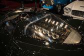 Engine 5.0 L DOHC V12 of the race car Jaguar XJ13 by Proteus (replica) — Stock Photo