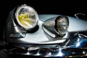 Headlamp Citroen DS19 Chapron Concorde 64. Toning. Stylization — Stock Photo