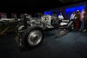 Exposition of the Belgian company for the restoration of vintage cars Arie-Jean — Foto de Stock