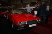 Sports car Maserati Biturbo Spyder, designed and assembled by Zagato — Stock Photo