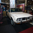Постер, плакат: An executive saloon car Alfa Romeo Alfetta 1980