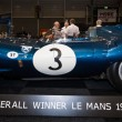 Sports racing car Jaguar D-Type (number of chassis: XKD606, winner of the 1957 Le Mans 24 Hours race), 1956. — Stock Photo #66540499