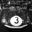 Sports racing car Jaguar D-Type (number of chassis: XKD606, winner of the 1957 Le Mans 24 Hours race), 1956. — Stock Photo #66540515