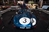 Sports racing car Jaguar D-Type (number of chassis: XKD606, winner of the 1957 Le Mans 24 Hours race), 1956. — Stock Photo