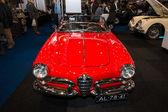 Compact car Alfa Romeo Giulietta Spider, bodywork by Pininfarina. — Stock Photo