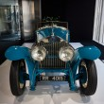 Постер, плакат: Showroom Rolls Royce Phantom I Experimental Sports Tourer by Barker & Co 1926