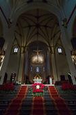 Interior of Basilica of St. Servatius — Foto de Stock