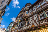 Beautiful streets of old Marburg. — Stock Photo