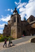 The Marburger Schloss (Marburg castle), is the first residence of Landgraviate of Hesse. — Fotografia Stock