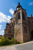 The Marburger Schloss (Marburg castle), is the first residence of Landgraviate of Hesse. — Stockfoto