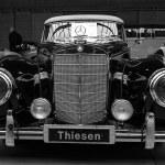 Постер, плакат: Limousine Mercedes Benz 300 S Cabriolet W 188 I 1953