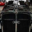 Постер, плакат: Fragment of the front of a vintage car Horch 853A Sport Cabriolet 1940