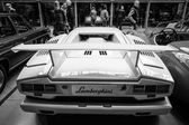A mid-engined supercar Lamborghini Countach LP 25th Anniversary, 1990 — Stock Photo