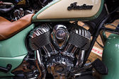 Engine of a bike Indian Chief Classic close-up — Stock fotografie