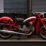 Постер, плакат: Vintage motorcycle Moto Guzzi Airone