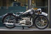 Vintage motorcycle Zuendapp K800, 1937 — ストック写真