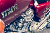 Detail of motorcycle Yamaha XV 750 Special — Stock fotografie