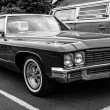 Постер, плакат: Full size car Buick LeSabre Fourth generation Black and white