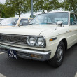Постер, плакат: Executive car Datsun 2400 Super Six Nissan Cedric 130 1970