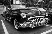 Full-size car Buick Super (Third generation), 1950. Black and white. — Stock fotografie