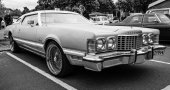 Personal luxury car Ford Thunderbird (seventh generation), 1977. — Stock Photo