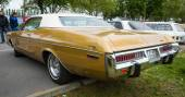 Full-size car Dodge Polara Custom (Fourth generation). Rear view. — Stock fotografie