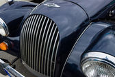 Fragment of a sports car Morgan Plus 8. — Stock Photo