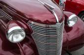 Fragment of a vintage car Chevrolet Master Serie GB Business Coupe — Stock Photo