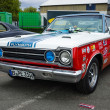 ������, ������: Muscle car Plymouth GTX in the racing coloring