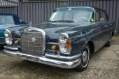 Full-size luxury car Mercedes-Benz 230S (W111), 1966 — Stock Photo