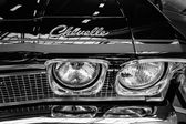 Headlamp of a mid-size car Chevrolet Chevelle — Stock Photo