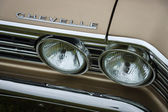 Fragment of a mid-size car Chevrolet Chevelle (First generation). — Stock Photo