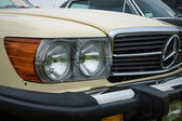 Fragment of a roadster Mercedes-Benz 450SL (R107), 1980 — Stock Photo