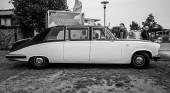 Luxury car Daimler limousine DS420, 1986 — Stock Photo
