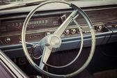 Cabin of a full-size car Pontiac Catalina, 1967. — Stock Photo