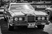 个人豪华汽车水星美洲狮 xr 7 — 图库照片