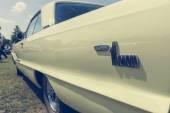全尺寸的汽车片段推托摩纳哥. — 图库照片