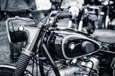 详细的摩托车宝马 r51-3,1955 — 图库照片